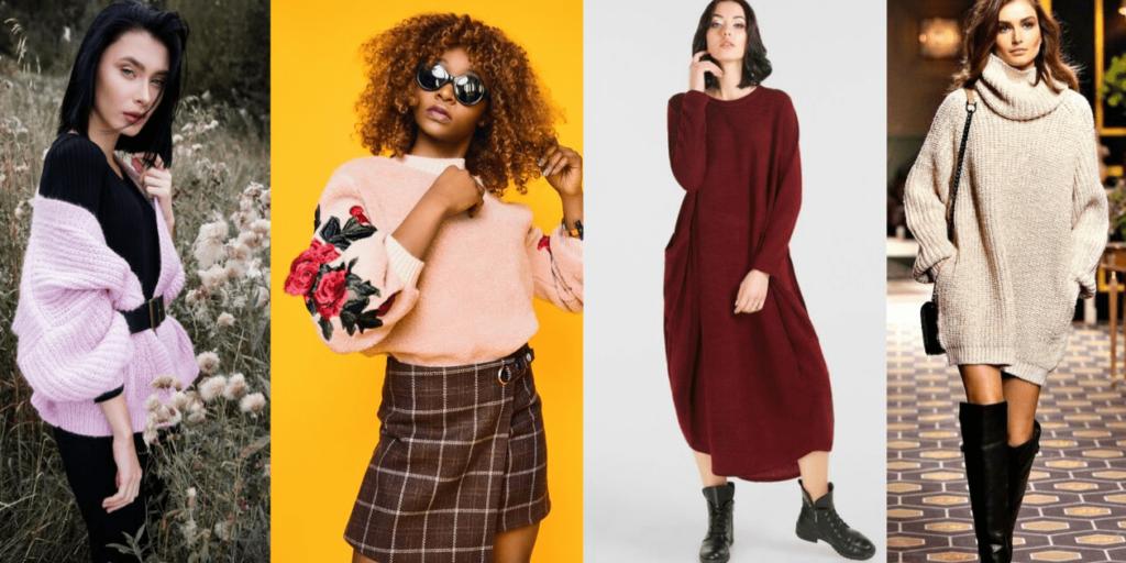 Модные новинки осени-зимы 2019-2020, овесайз,