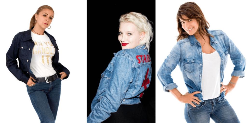 Модные женские жакеты 2019 из денима