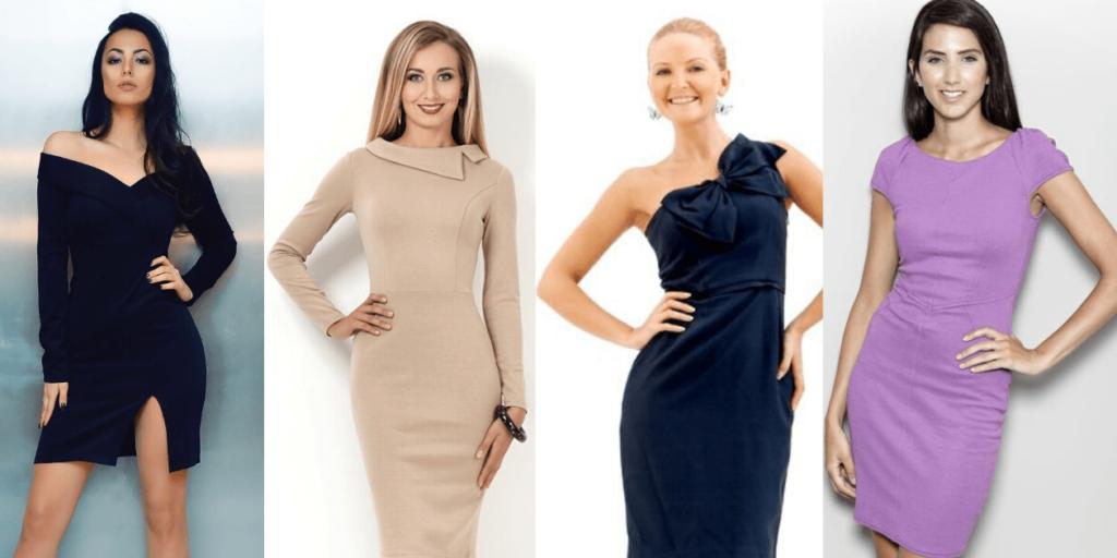 Топ-6 модных платьев осень-зима 2019-2020