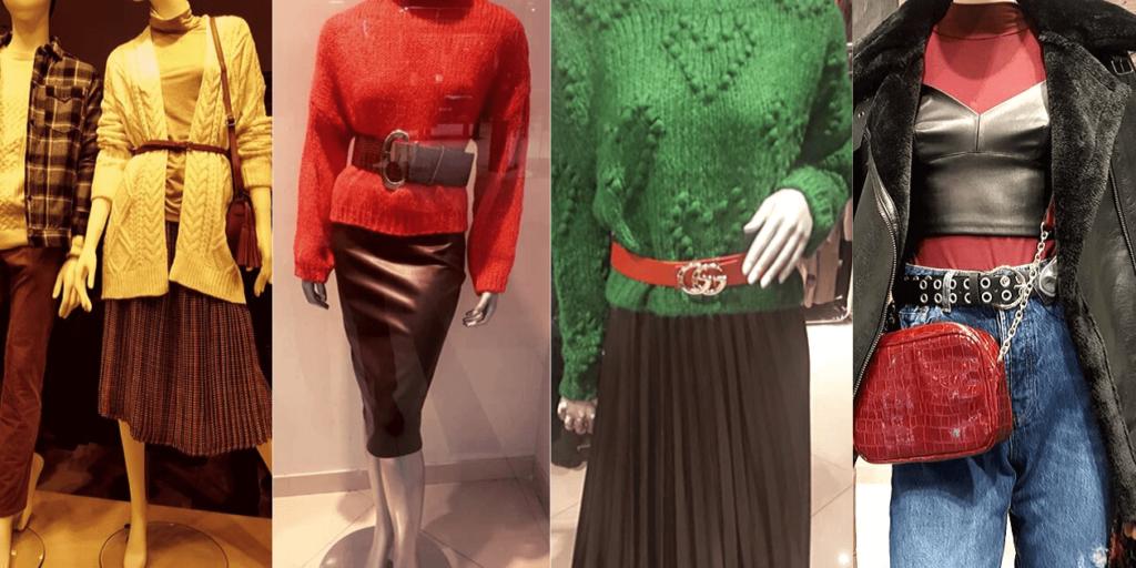 Модные ремни различаются по размеру, форме, дизайну.