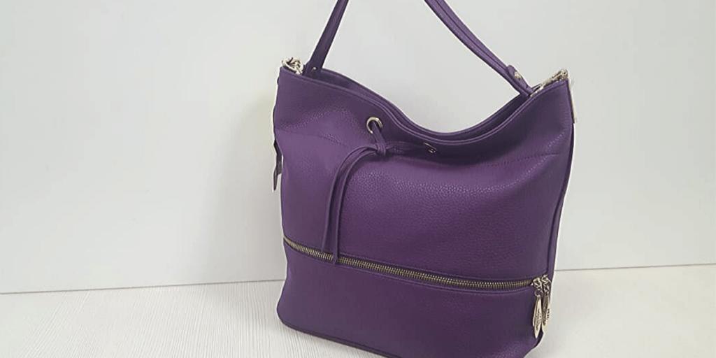 Модная сумка-хобо яркого цвета в тренде в сезоне осень-зима 2019-2020