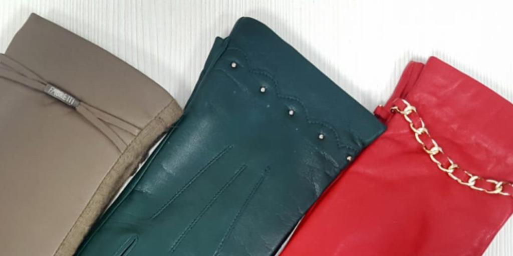 Декоративные элементы зимних женских перчаток