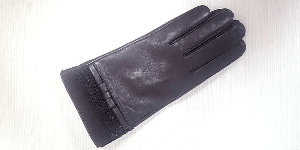 Натуральные кожаные перчатки защищают от непогоды
