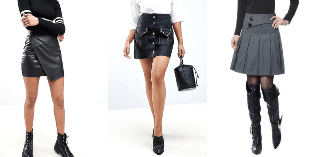 Модные мини-юбки сезона осень-зима 2019-2020