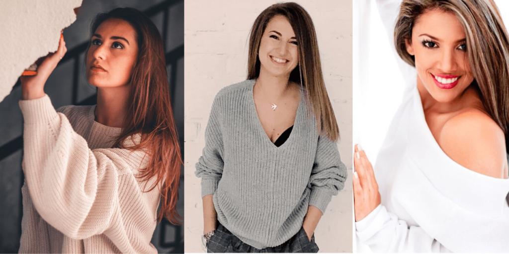 Женский свитер осень-зима 2019-2020 для стильного образа