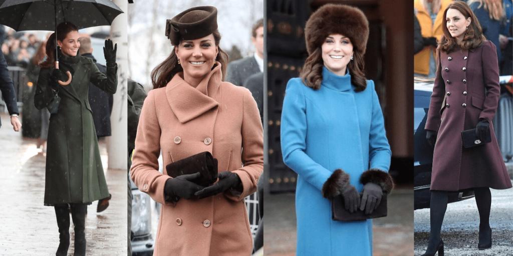 Перчатки дополняют стильные луки Кейт Миддлтон