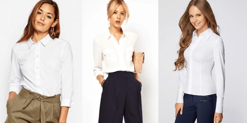 Белая рубашка 2020 является основой базового гардероба современной женщины