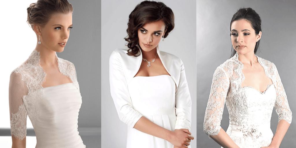 Болеро нарядные к свадебному платью, фото стильных образов невест