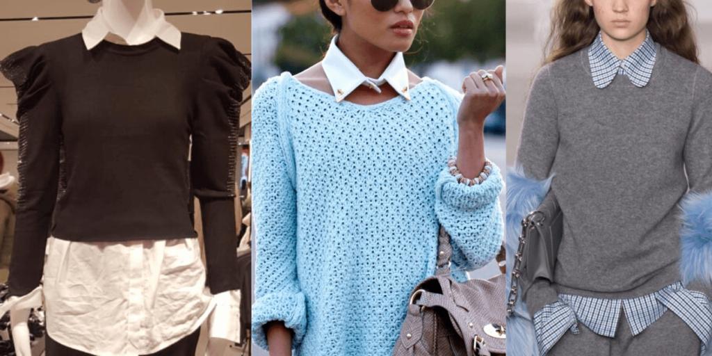 Тренд сезона-многослойность в одежде