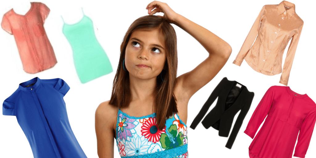 При выборе блузы необходимо учитывать тон кожи