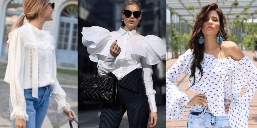 Тренд 2020 года - объемные рукава блуз